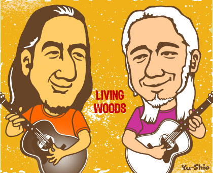 Living Woods Caricature