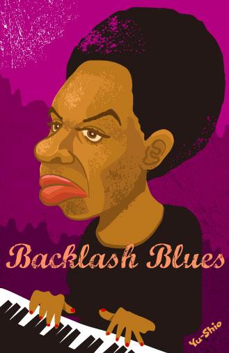 Nina Simone Caricature