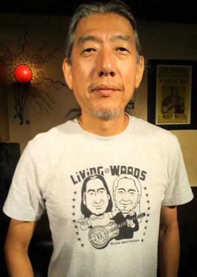 森俊樹さん Living Woods EverydayRock T shirt