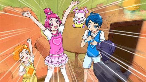 【ドキドキ!プリキュア】第29回「マナのために!シャルル大変身!」