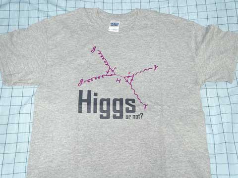 ヒッグス粒子Tシャツ