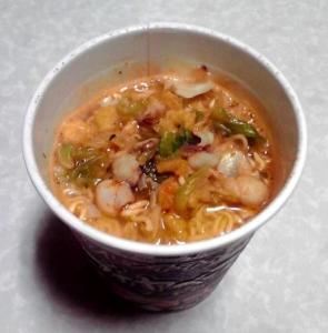 フレンチテイスト ブイヤベース風ヌードル トマトシーフード味(できあがり)