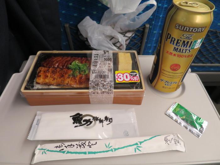 サーモン蒲焼丼 東京駅 駅弁 新幹線 オススメ