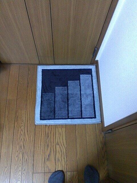 ドラゴンクエストの階段マット