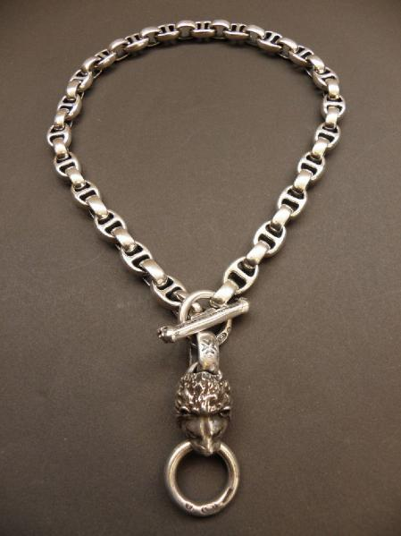 Gaboratory,Gabor,Silver,WalletChain,Lion,Necklace,ガボラトリー,ガボール,シルバー,ライオン,ウォレットチェーン,ネックレス,卡博拉特利,加伯,銀飾