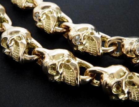 Gaboratory,Gabor,Silver,Gold,Skull,Bracelet,ガボラトリー,ガボール,シルバー,K18,金,スカル,ブレスレット,卡博拉特利,加伯,銀飾