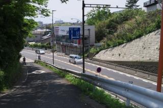 旧東海道・梅沢押切坂の現況