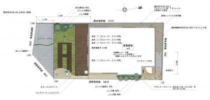 ブライト外構プラン_平面図