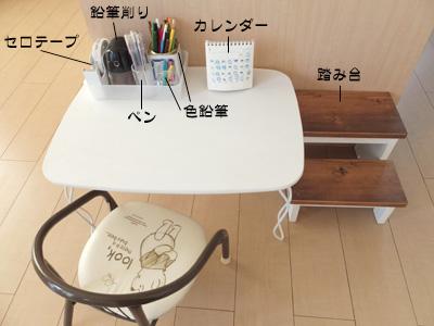 子供のテーブルと椅子