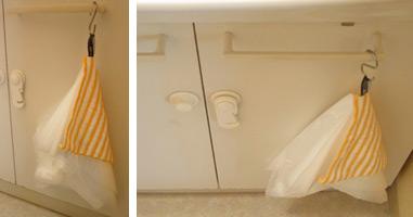 洗面所のゴミ箱
