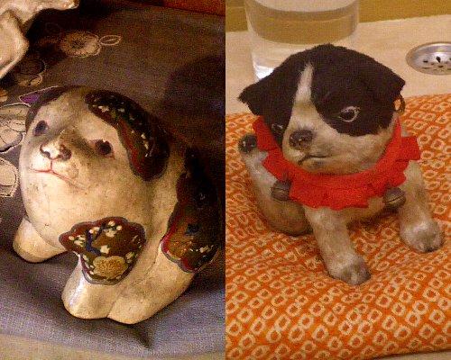 さがの人形の家・子犬