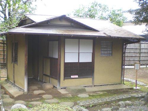 旧山崎家別邸・茶室