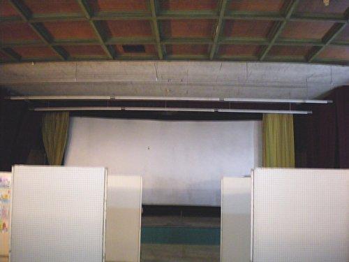 旧鶴川座・舞台側