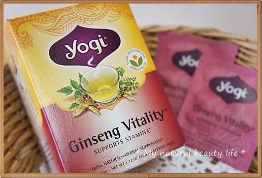 iHerb Yogi Tea, Ginseng Vitality, Supports Stamina