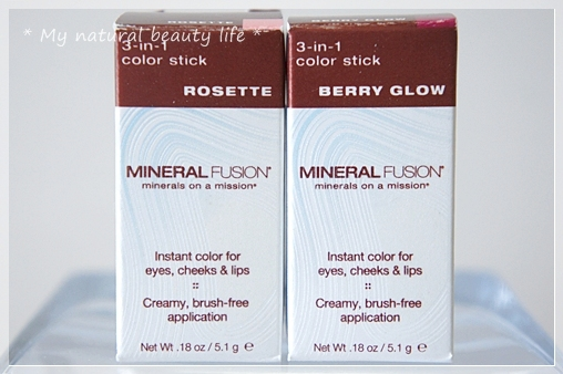 Mineral Fusion, 3-in-1 Color Stick