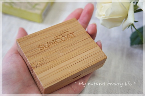 Suncoat, Duo Mineral Eye Shadow With Organic Bamboo Silk