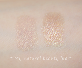 Suncoat, Duo Mineral Eye Shadow With Organic Bamboo Silk, Candy & Candy