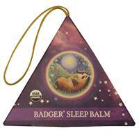 Badger Company, Organic Badger Sleep Balm Ornament, Lavender Bergamot