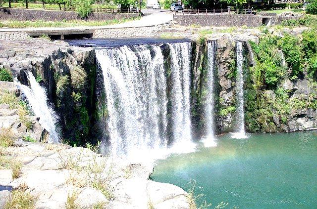 原尻の滝(大分のナイアガラ)