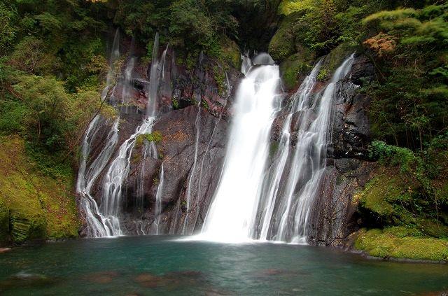 白水の滝(スローシャッター)