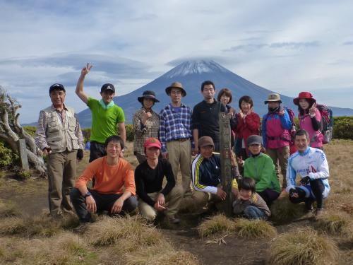 山頂記念撮影(2)