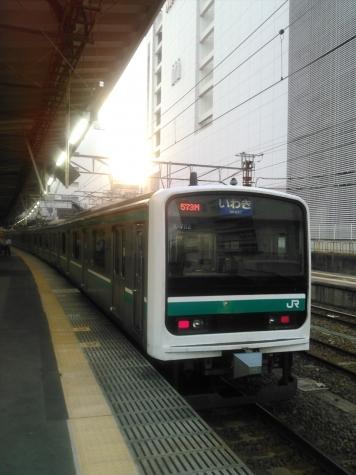 常磐線 E501系 電車