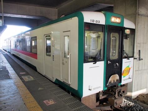 陸羽東線 キハ111形200番台 気動車