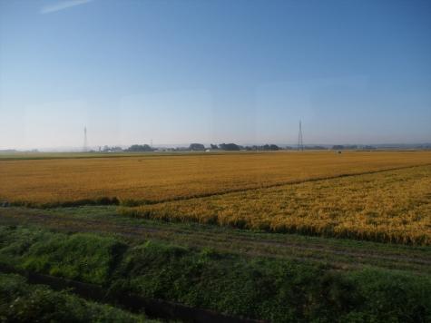 陸羽東線の沿線風景