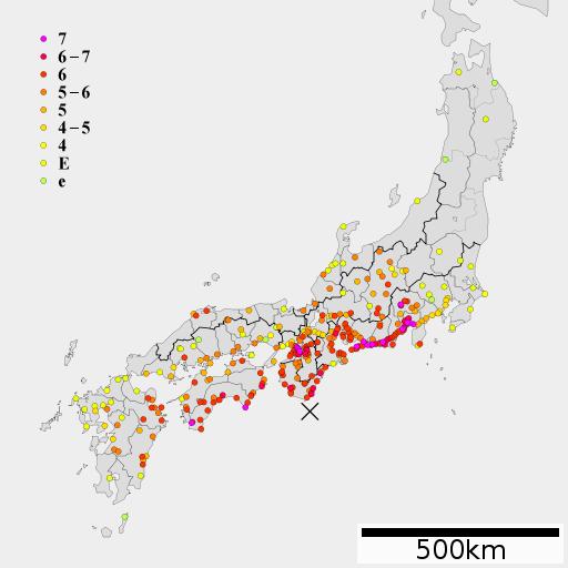 1707年の宝永地震、大坂で犠牲者は21000人以上いたことが判明