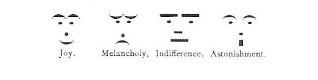 100年以上前の顔文字が見つかる、タイプライターの時代からあった