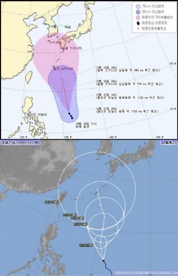 【気象】台風「フィートウ(23号)」、朝鮮半島に北上する可能性『大』
