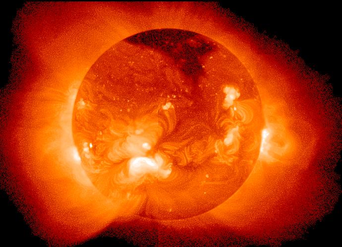 太陽でレントゲンの最高強度のX線が観測 2日後には地球到着