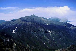 十勝岳の大正火口付近で再び発光現象
