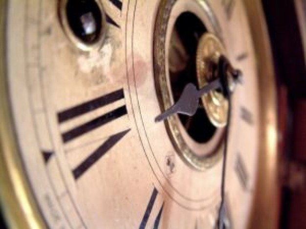 突然動き出したリアルおじいさんの時計