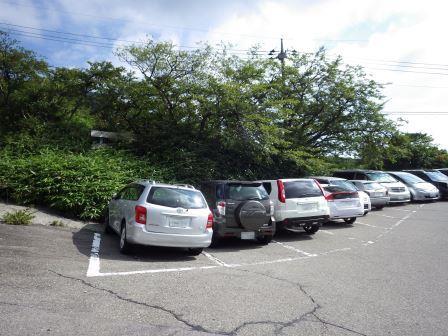 8:40 駐車場
