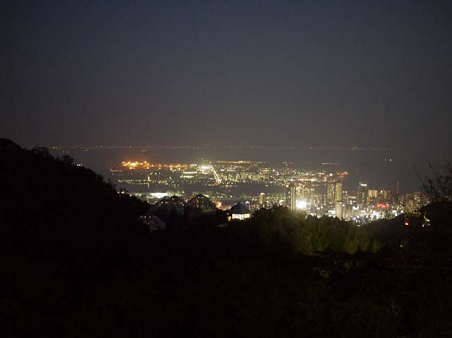 神戸 布引 夜景