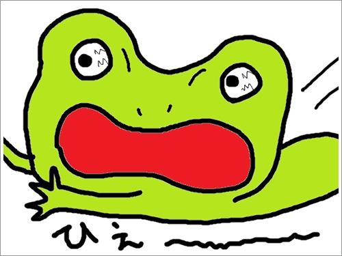 さくらvs蛙