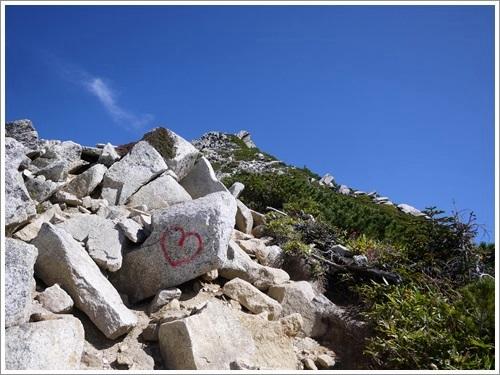 常念岳から蝶ヶ岳へ17