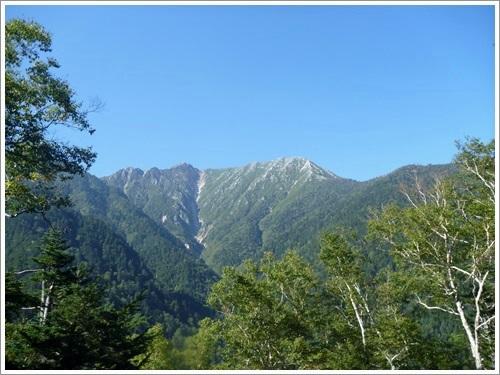 蝶ヶ岳16