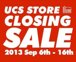 UCS 閉店
