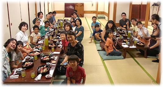 2013-08-11親子ゲーム会 みんなでお寿司