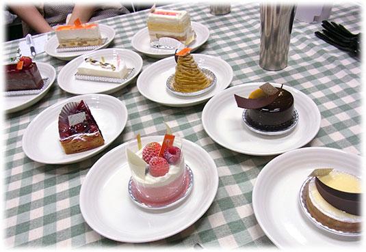 2013-09-16すごろく夜女子会編ケーキ