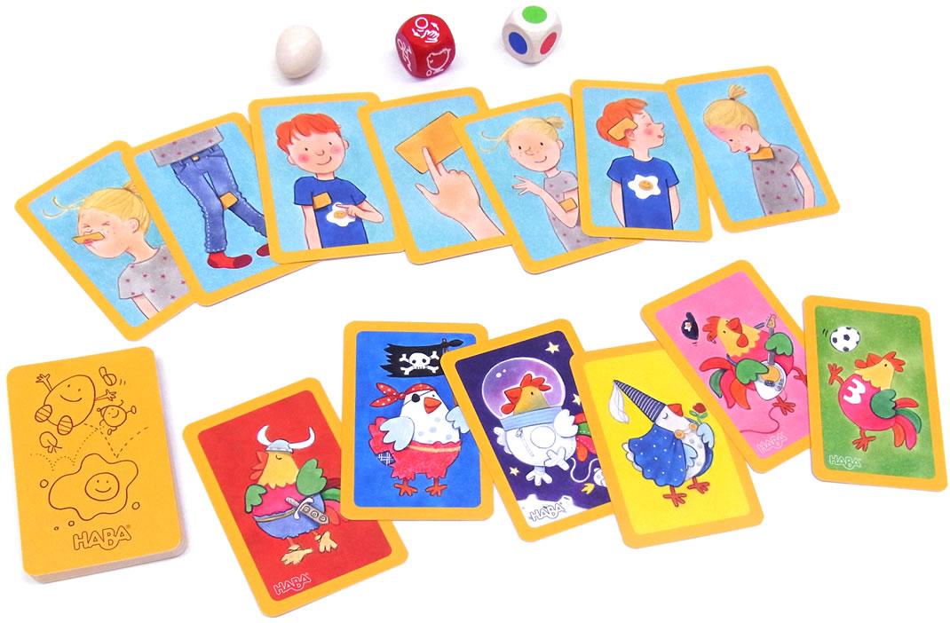 ダンシングエッグ・カードゲーム:展示用写真