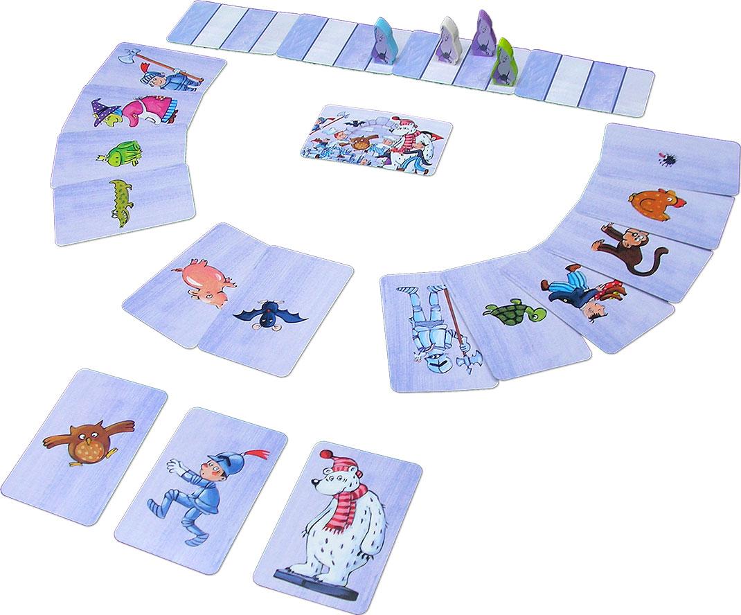 おばけの試験カードゲーム:展示用写真