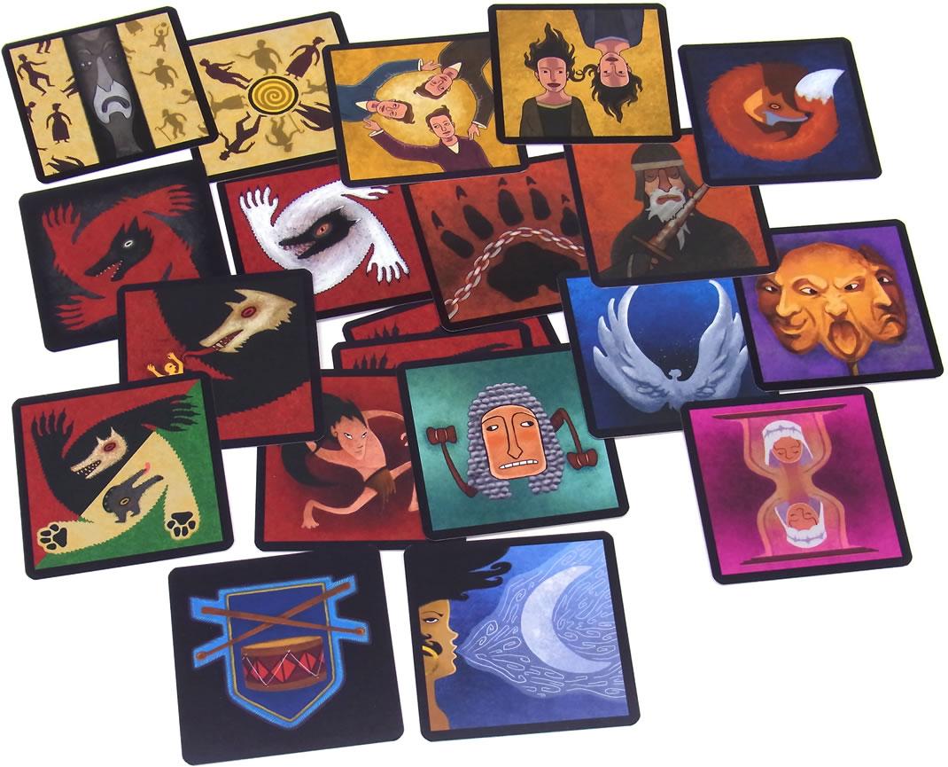 ミラーズホロウの人狼拡張:新たなる村人:全カード