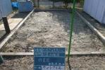 幼稚園、砂場清掃、掃除。作業前