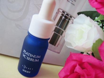 紫外線によるしみ.くすみ対策美白美容液プラチナVCセラム!