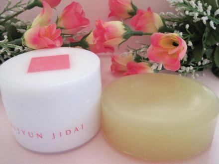 しっとり潤い肌に優しい低刺激 美潤時代シアバター洗顔石鹸!