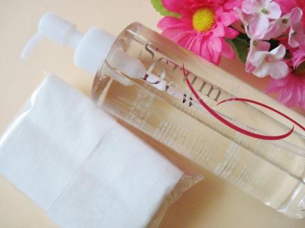 100%美容成分.毛穴ケア拭き取り水クレンジング「セラムデュー」