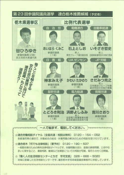栃木県メーデー宇河地区大会④